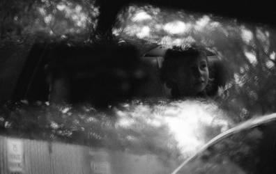 Car Ride Dreams in Seattle Rain by jesseboy000