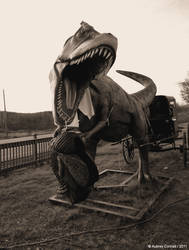 Amish T-Rex Feastin'