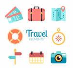 8 Colorful Travel Element