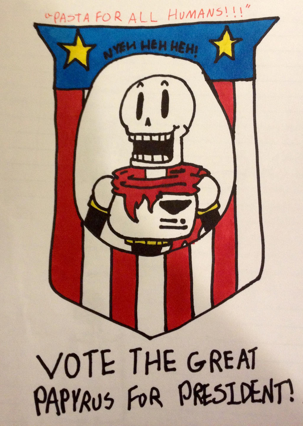MASTER CHEF PAPYRUS FOR PRESIDENT! by F0xyth3p1rat3f0x