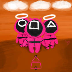 Squid Game Pink Soldiers