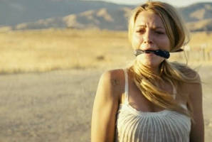 Blake Lively Cleave gagged / Savages
