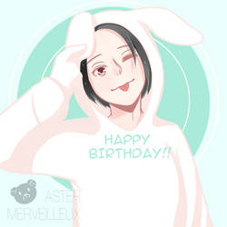 Happy Birthday Co-Mascot!!
