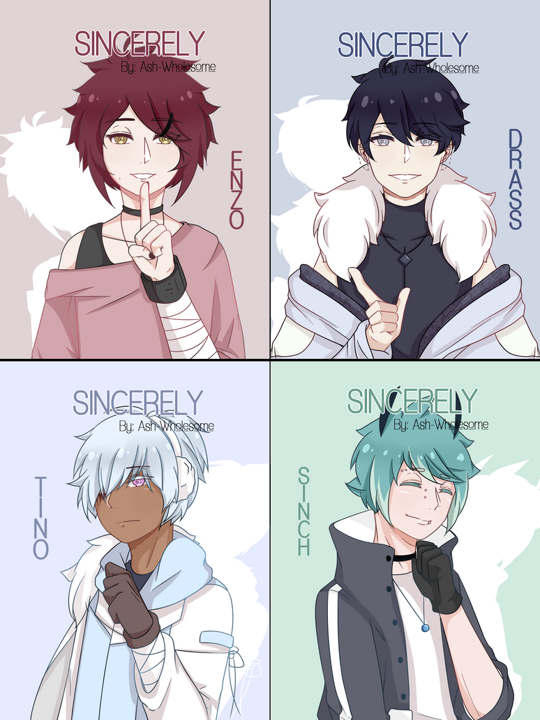 Cast for Sincerely by AsterMerveilleux