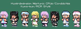 CPUs/Candidates Kunio-kun Style