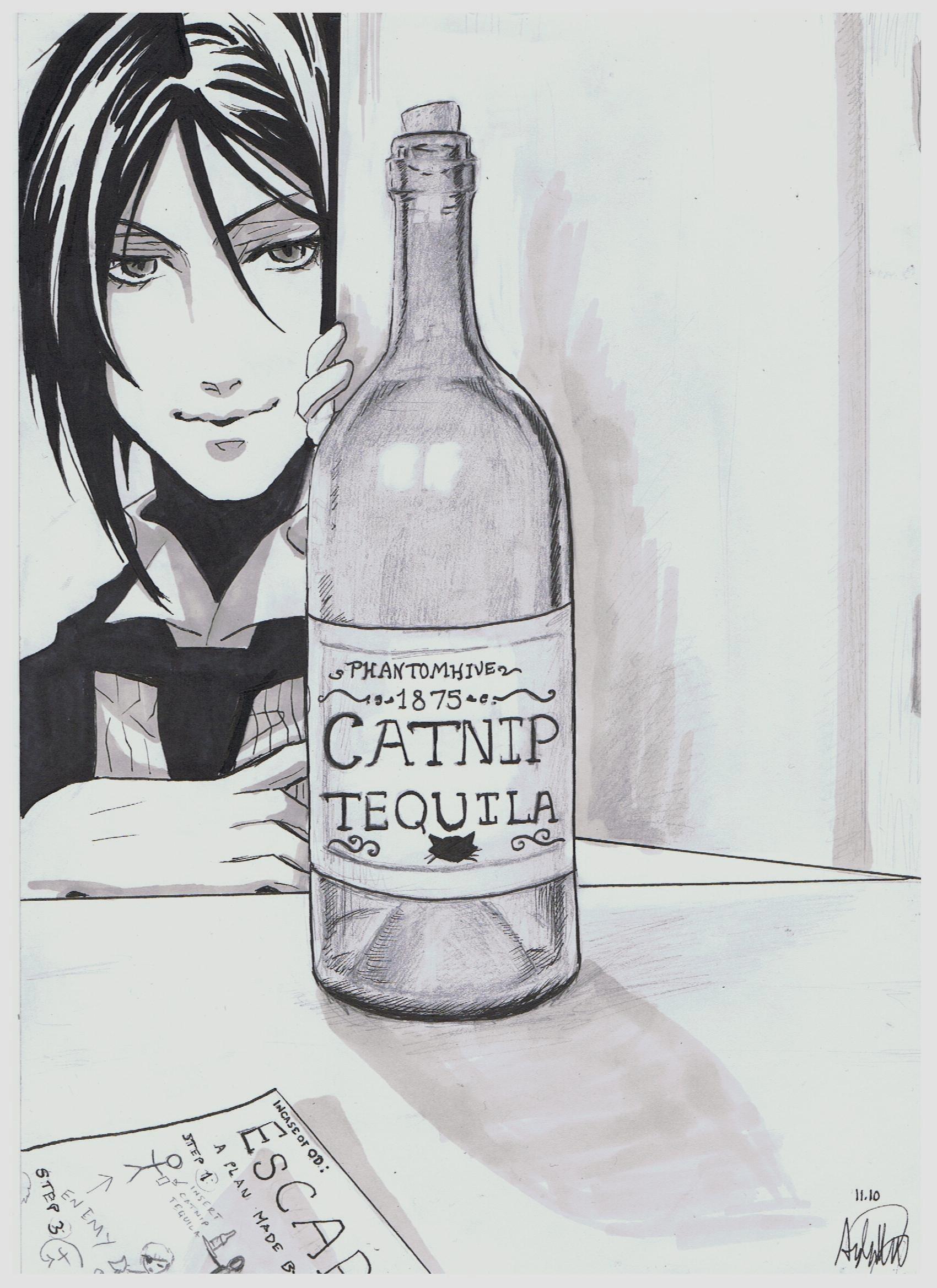 Kuroshitsuji: Catnip Tequila by AylaMorell