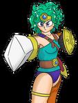 Sofia, Heroine of Zenithia by roboguineapigultra