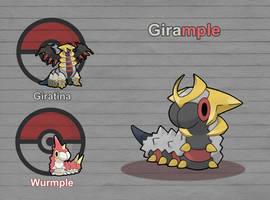 Poke Fusion - Girample by PokeFusionMan