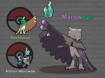 Poke Fusion - Maroweye by PokeFusionMan