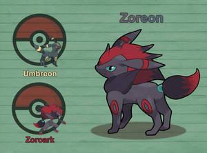 Poke Fusion - Zoreon