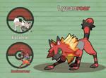 Poke Fusion - Lycanroar