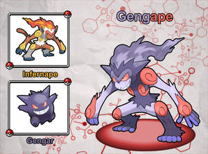 Poke Fusion - Gengape