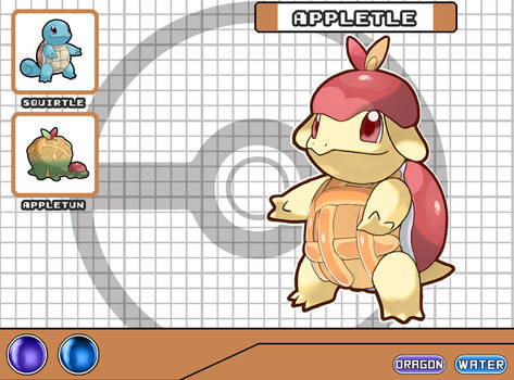 Poke Fusion - Appletle