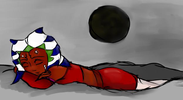 Sleeping Ashoka. by Chyche