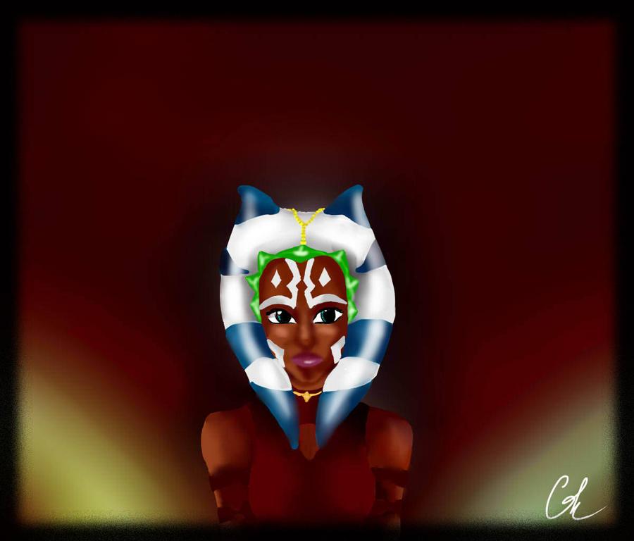 Asoka Tano by Chyche