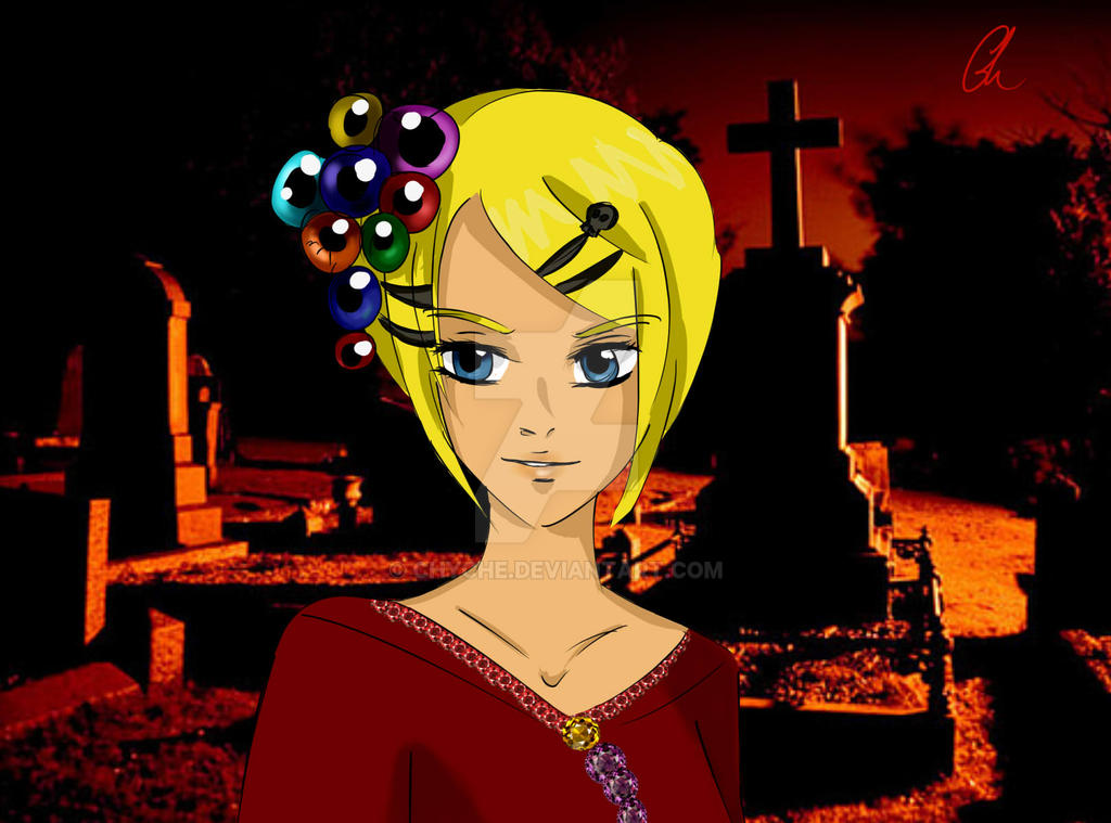 Rin Kagamine- Grave-Sending Song by Chyche