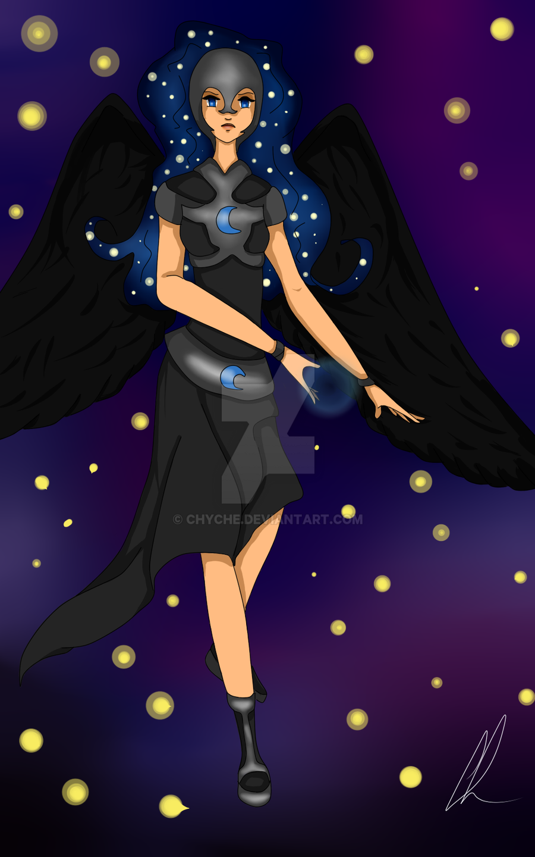MLP : Nightmer Moon by Chyche