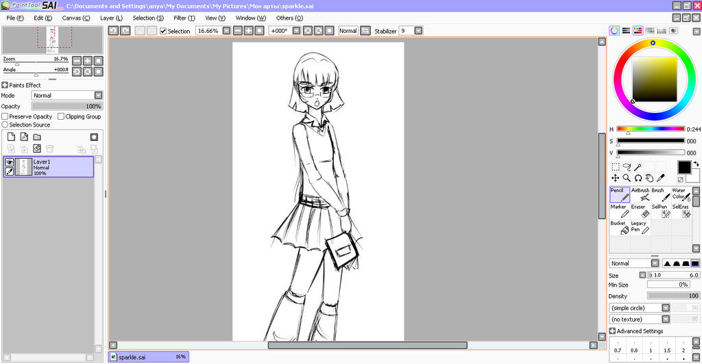 WIP - Twilight Sparkle by Chyche