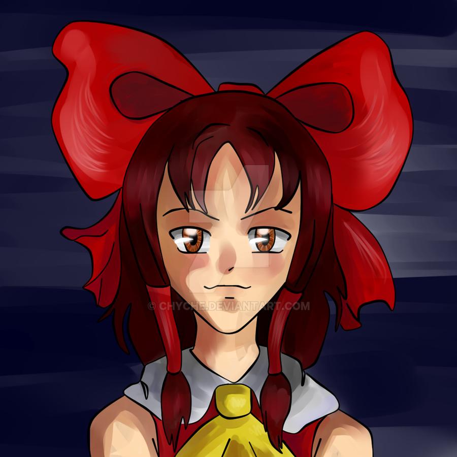 Reimu Hakurei by Chyche