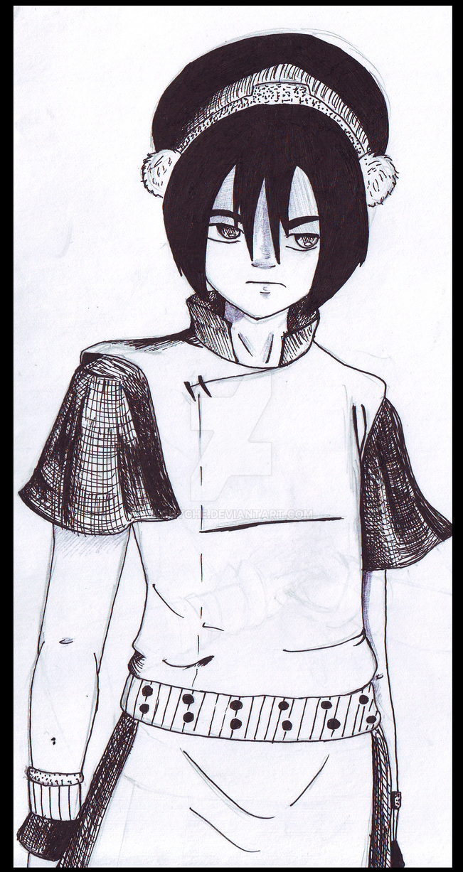 Avatar. Legend of Aang: Toph by Chyche