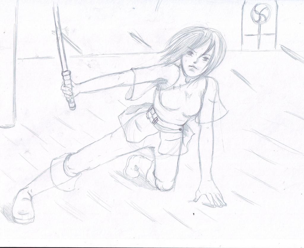 Siri Tachi Sketch by Chyche