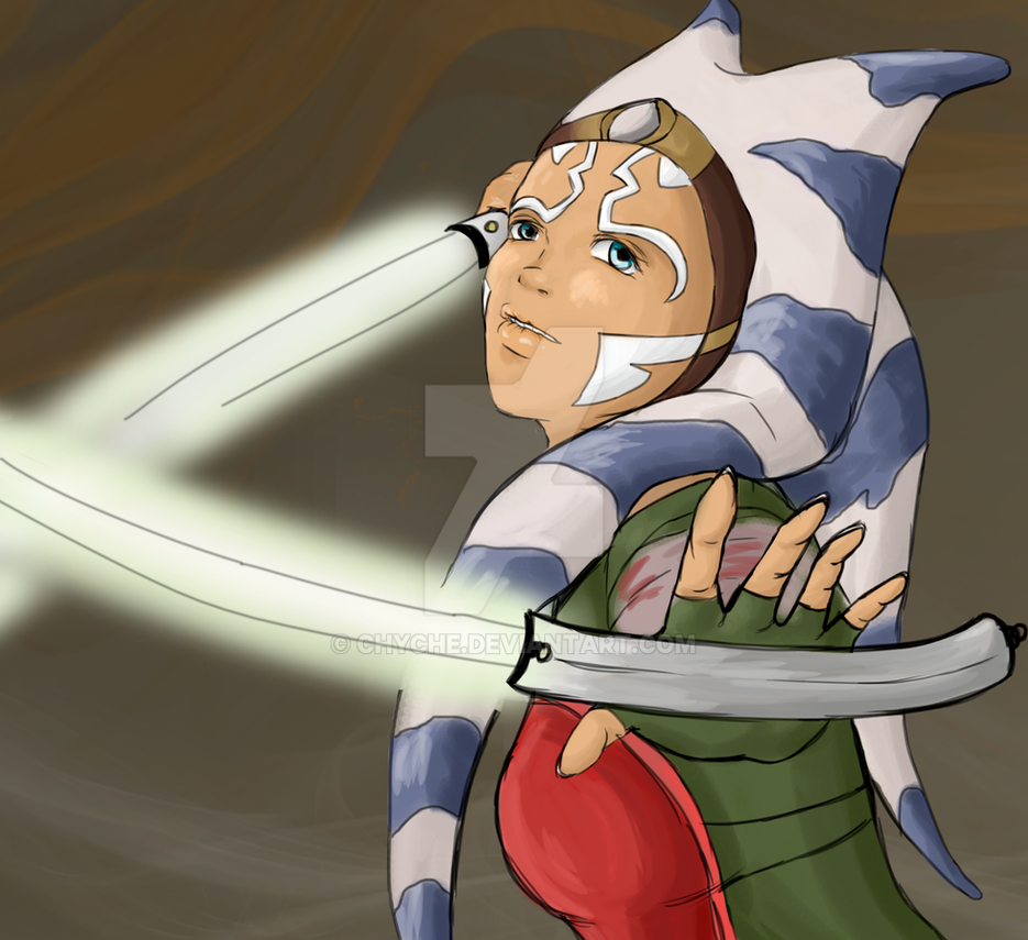 Ahsoka from Rebels by Chyche