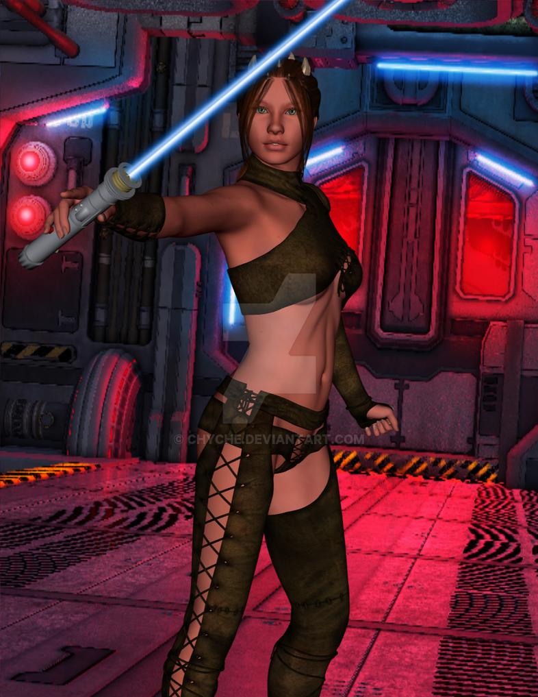Zabrak Jedi by Chyche