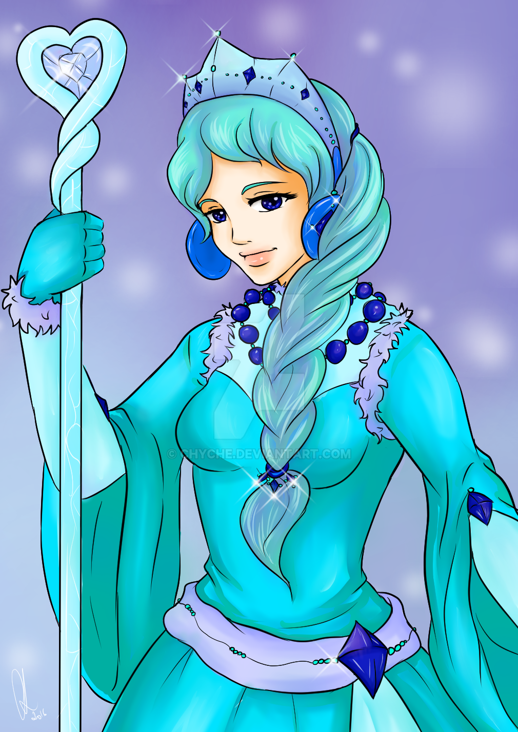 Snow Queen. by Chyche