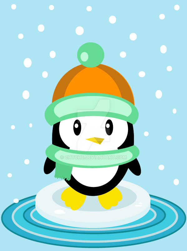Little penguin by Chyche