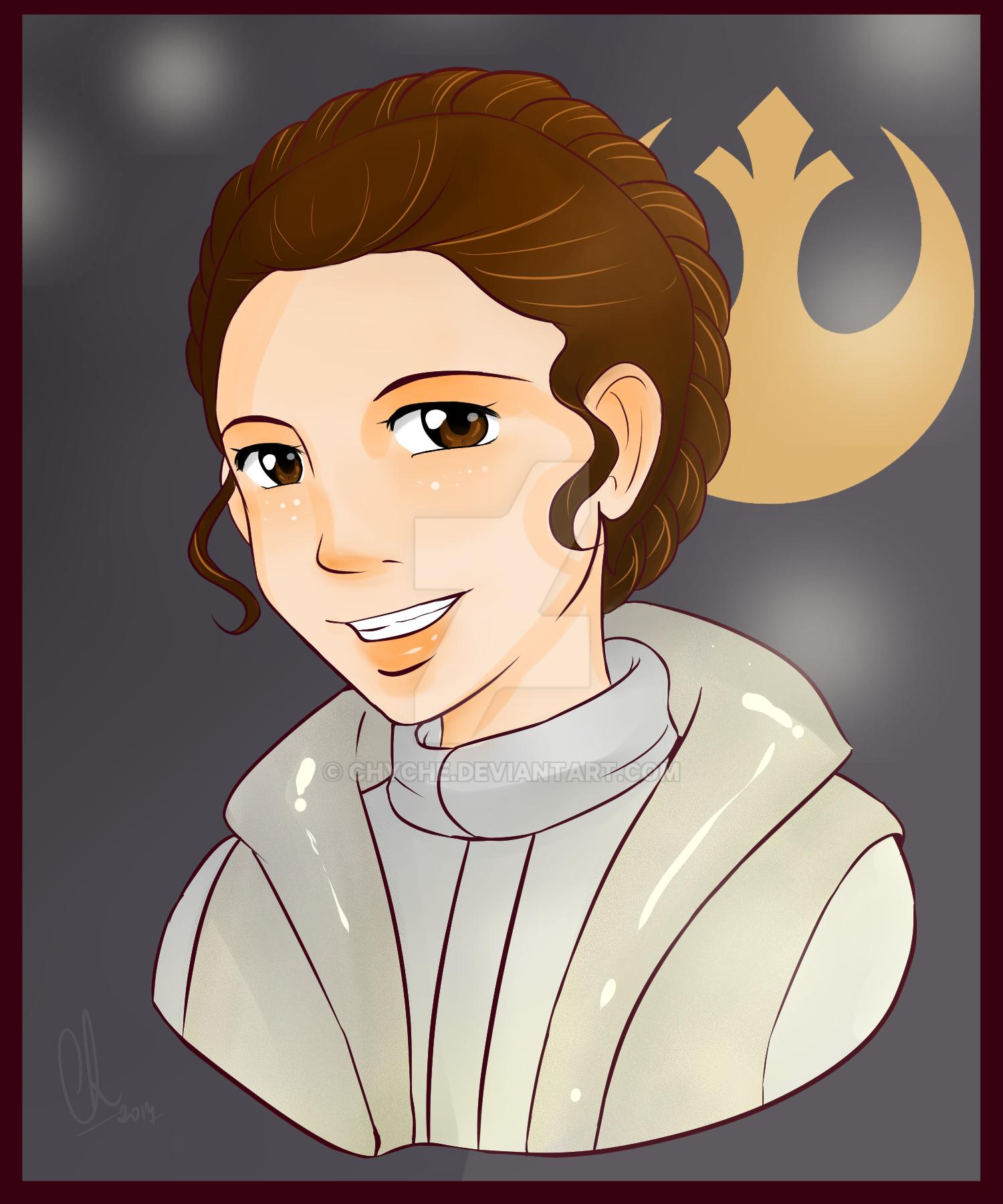 Leia Organa by Chyche