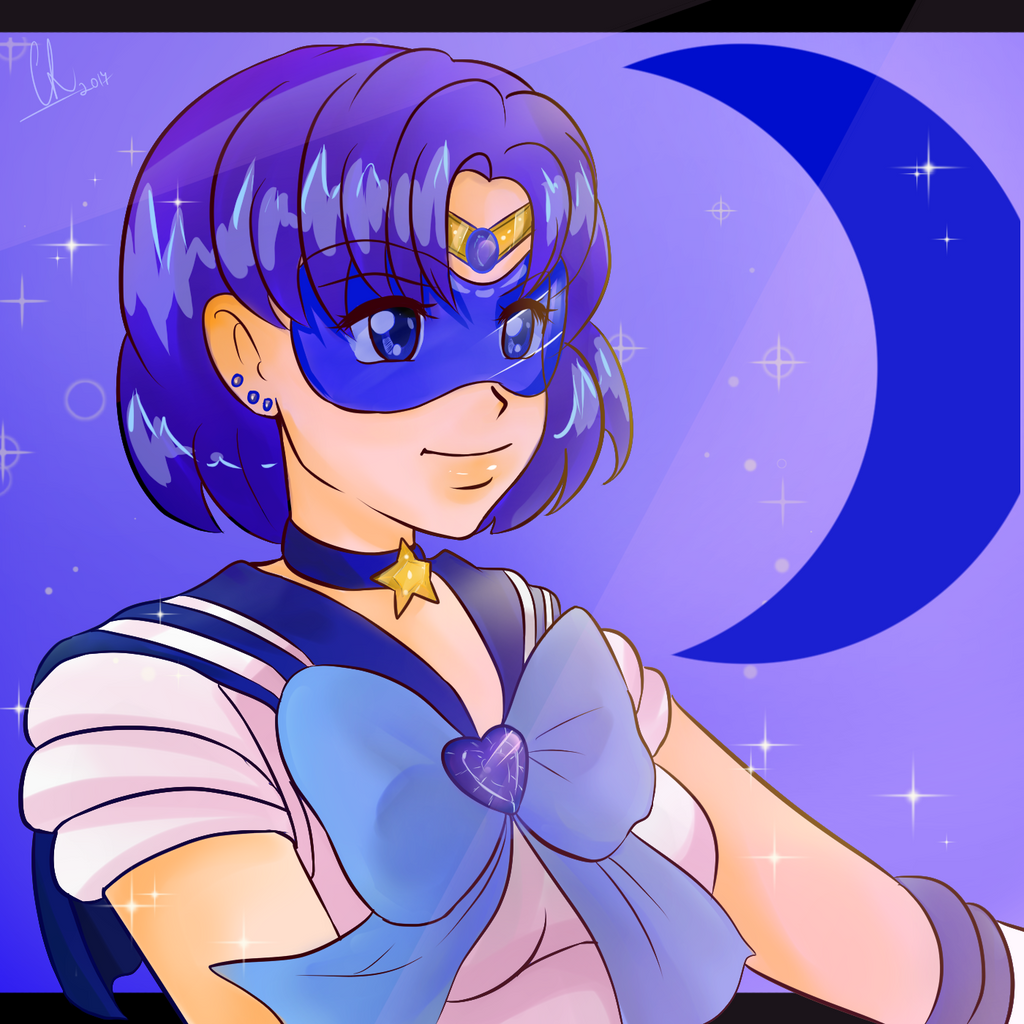 Sailor Mercury Ami by Chyche