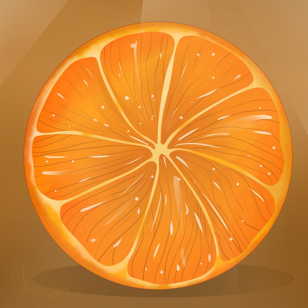Orange by Chyche