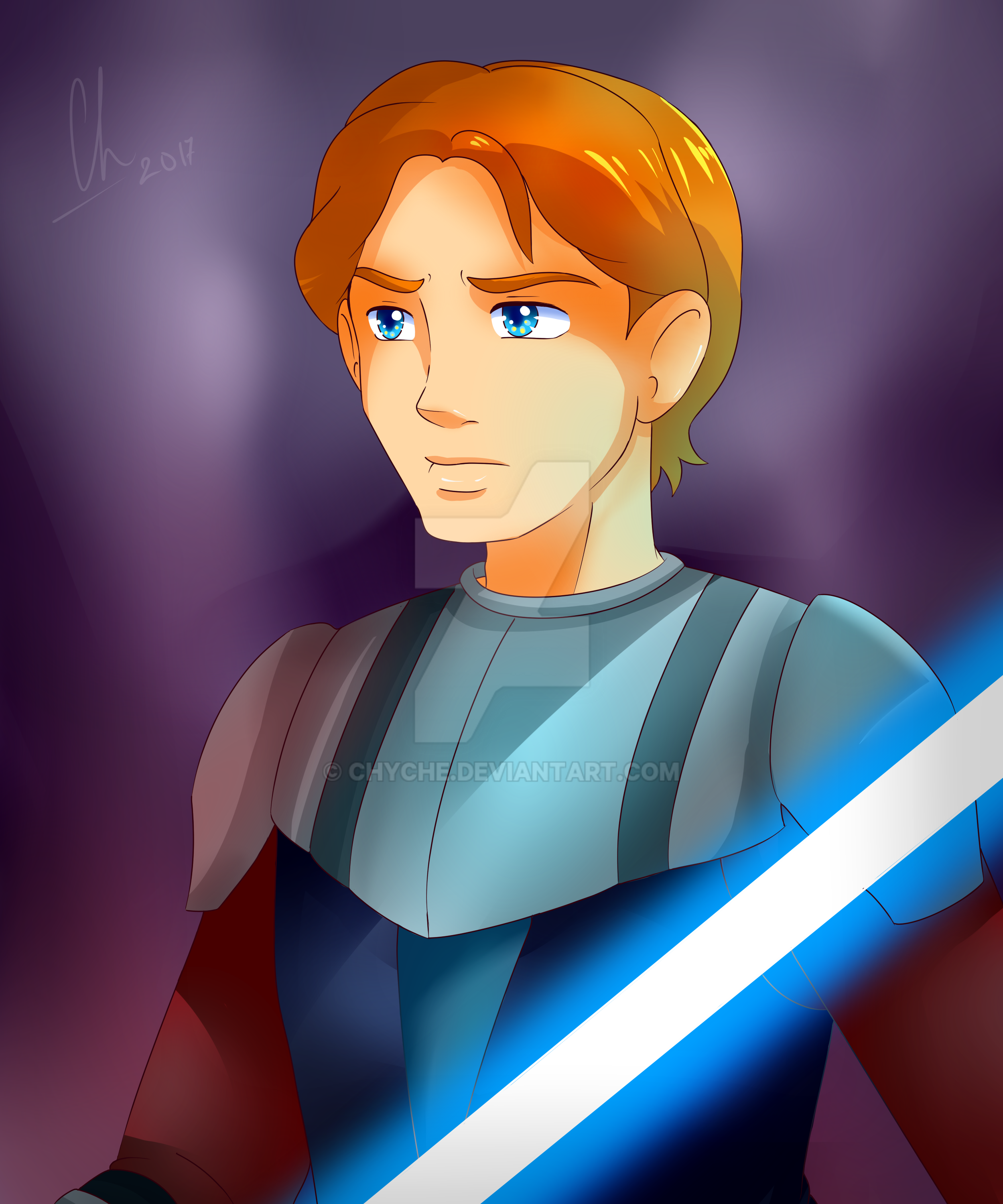 Anakin by Chyche