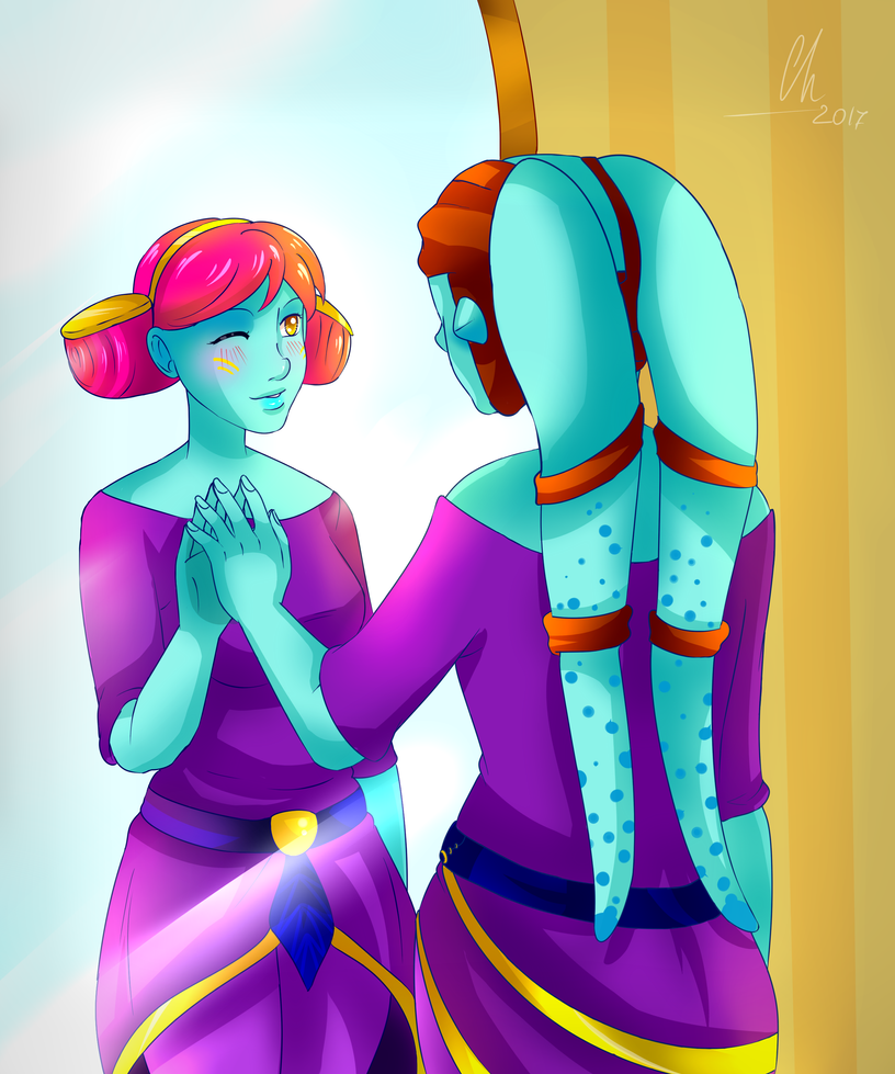 Mirror by Chyche