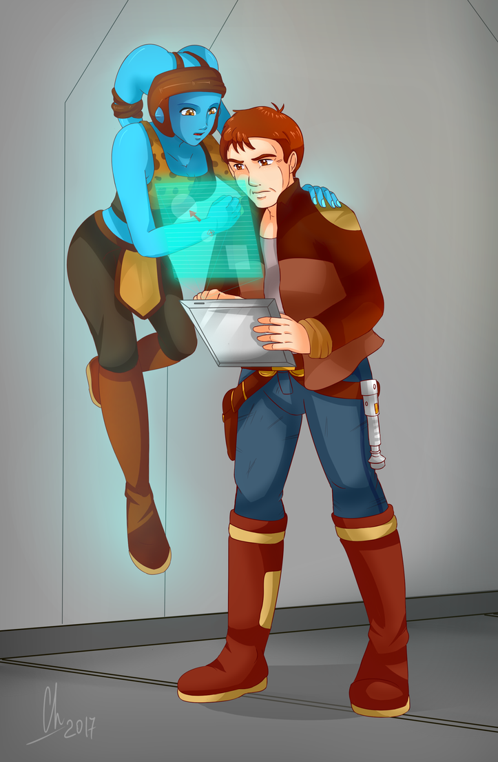 Alex and Aayla by Chyche