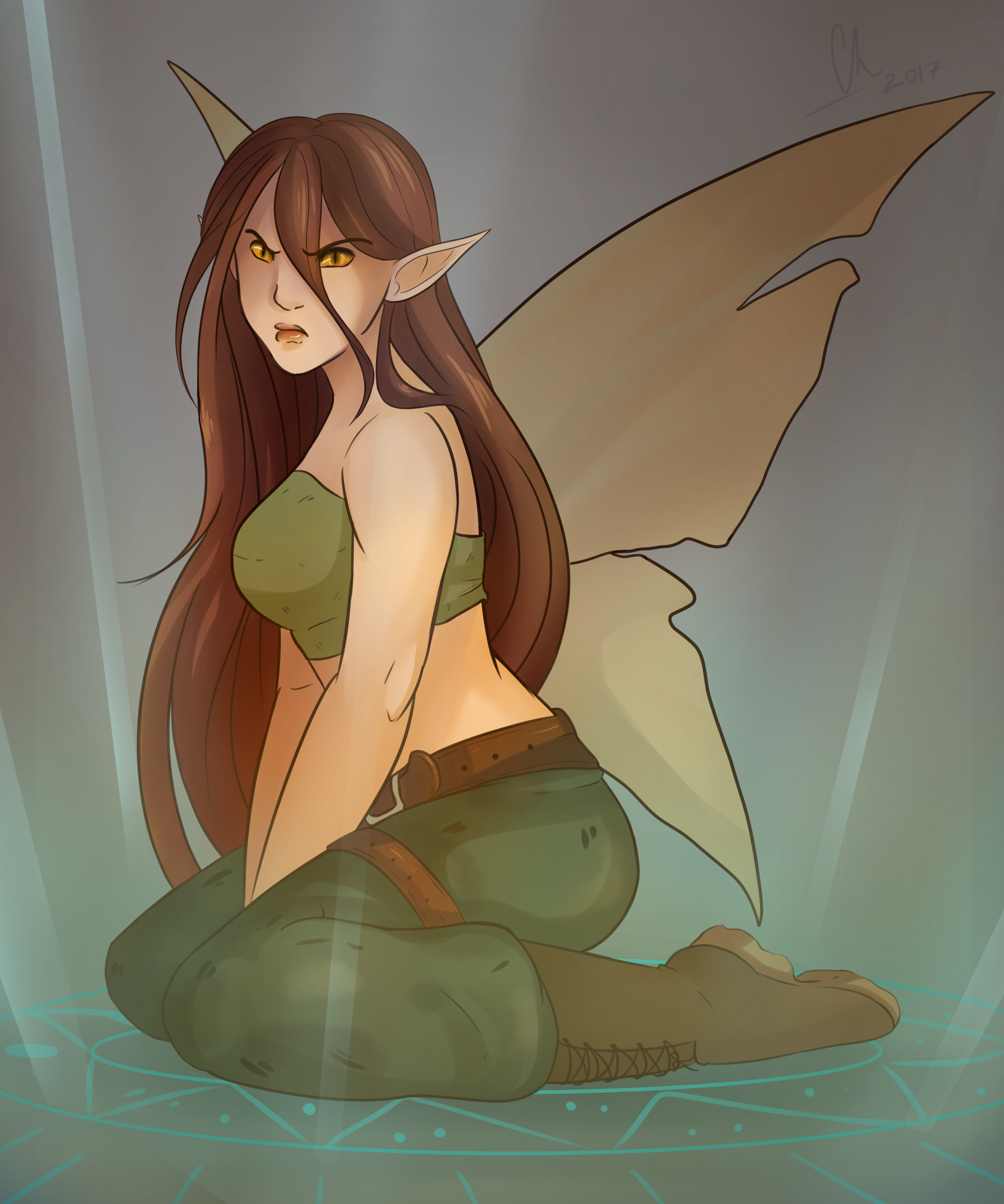 Unreal Fairy by Chyche