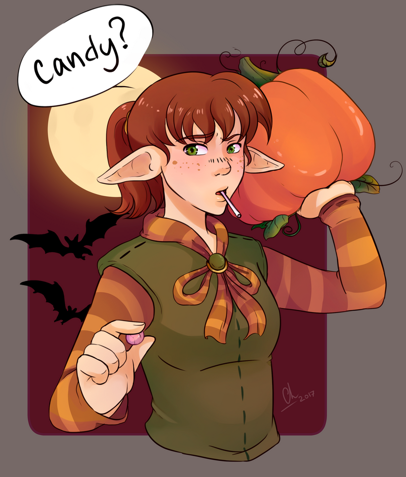 Michi Halloween by Chyche
