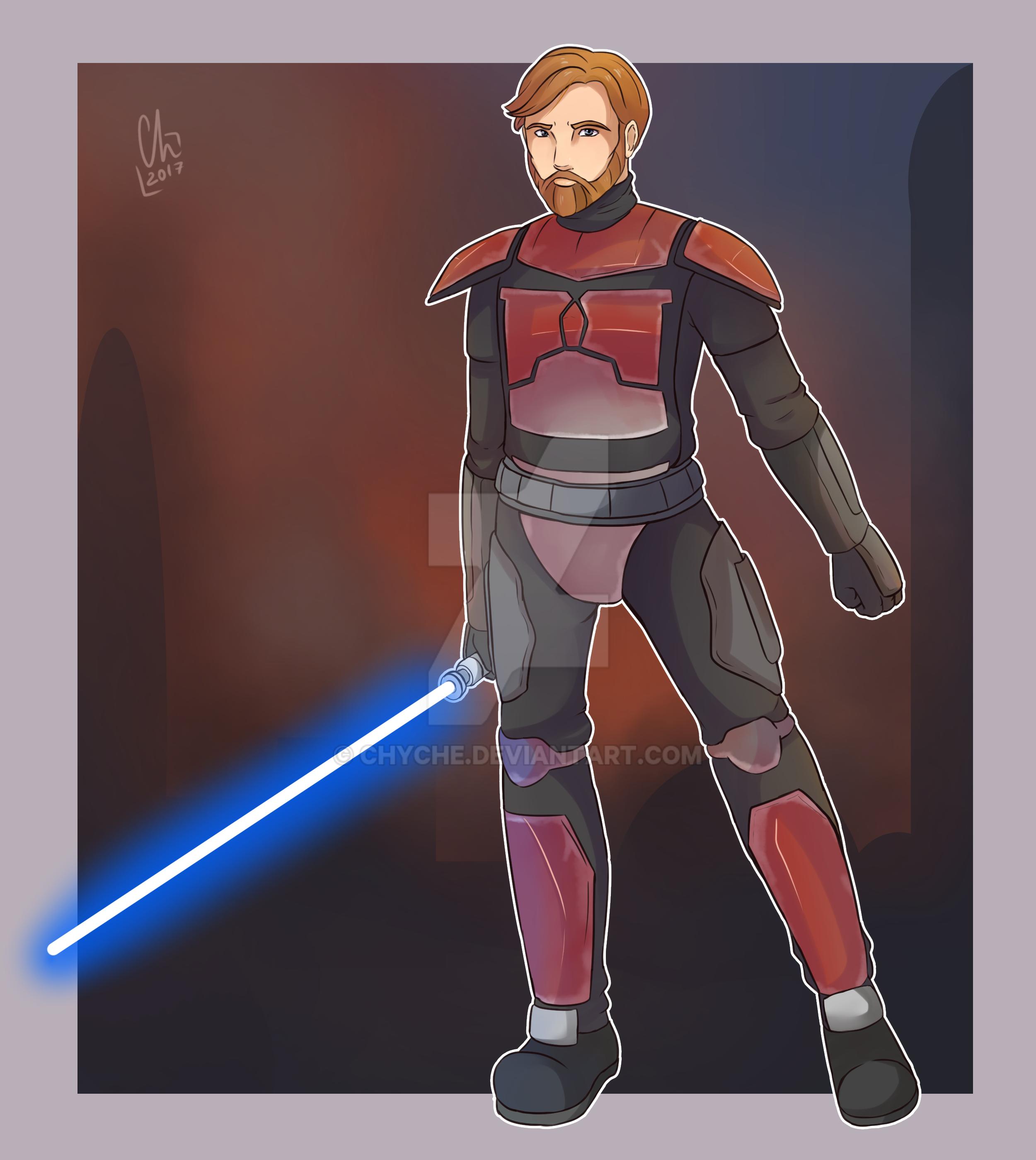 Obi-Wan Kenobi by Chyche