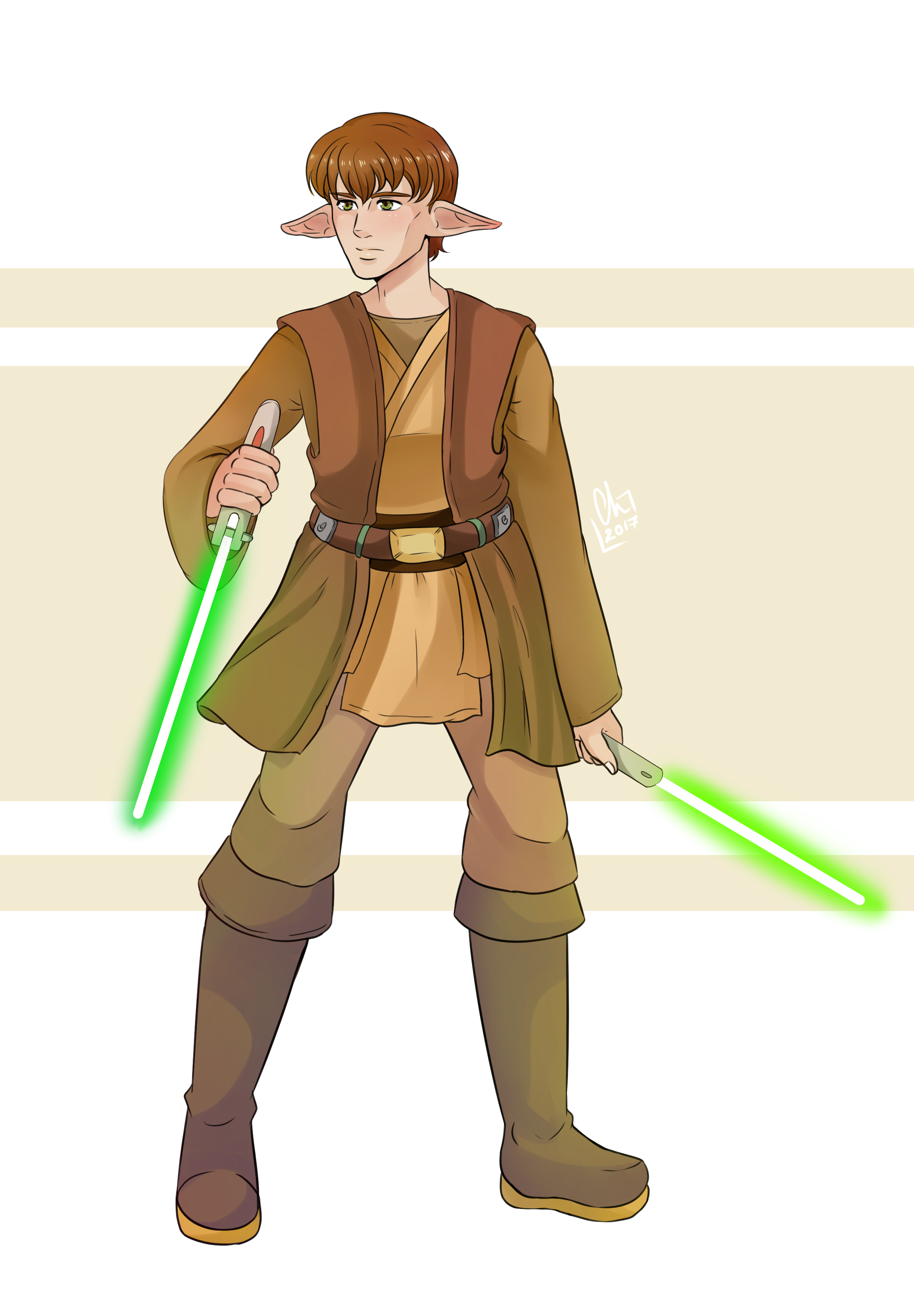 [Crossover] - Jedi Akayo by Chyche