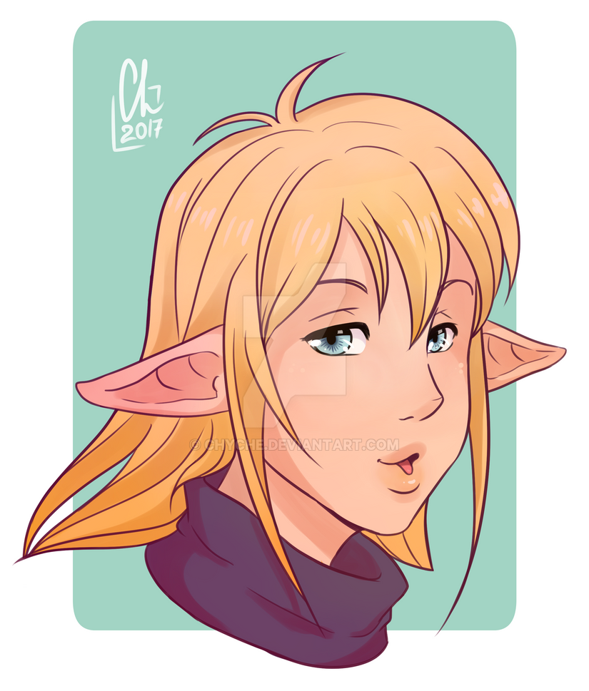 Elf by Chyche