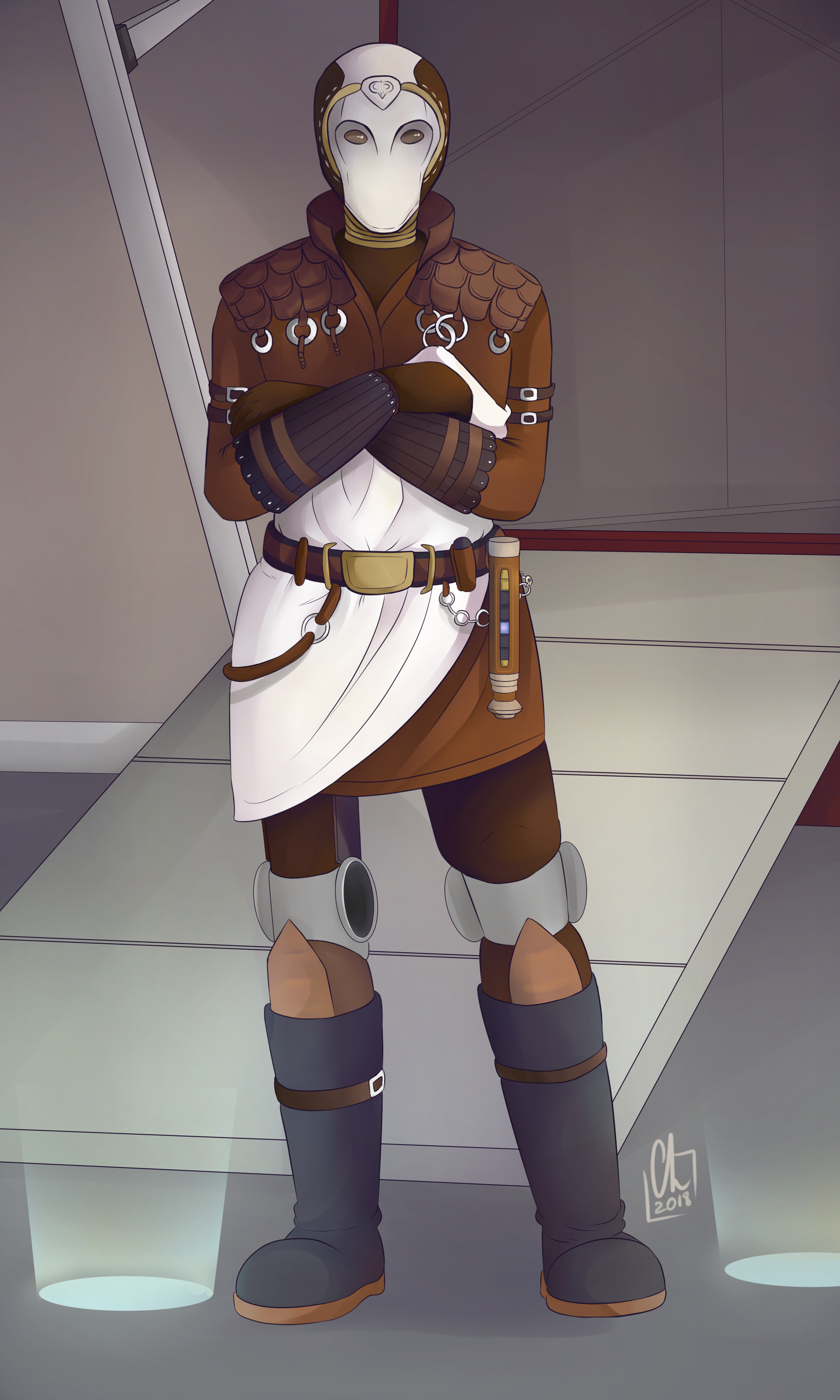 [Commission] - Jedi from SWTOR by Chyche