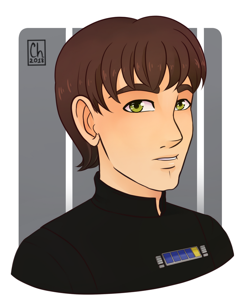 [Commission] - Imperial Officer by Chyche