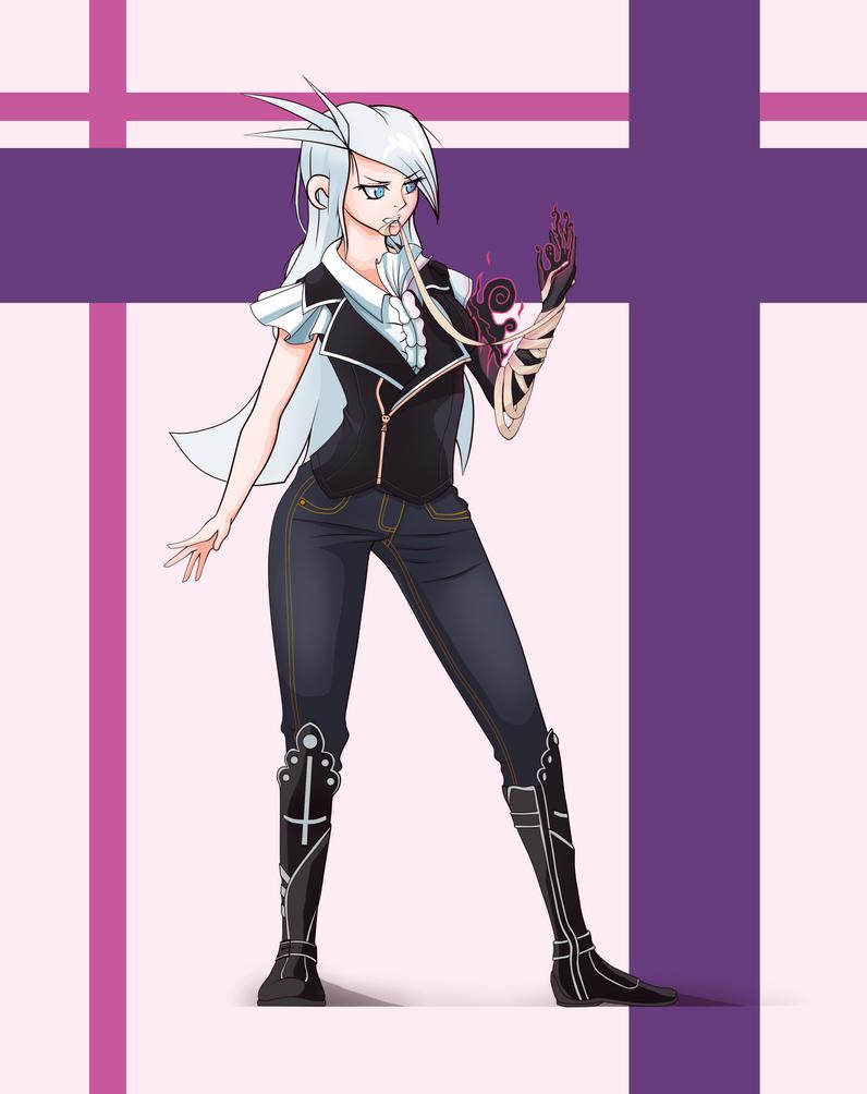 Angelina Draculea redesign by theMuesLee