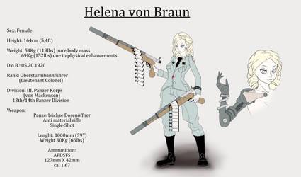 Helena von Braun 2018 by theMuesLee