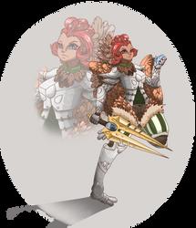 Chicken Knight redo by theMuesLee