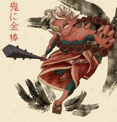 Oni Yuzuka 2018 by theMuesLee