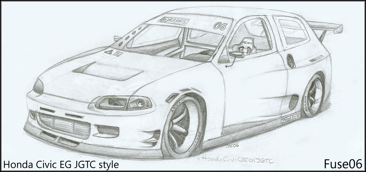 Honda Civic Jgtc Style By Fuseest