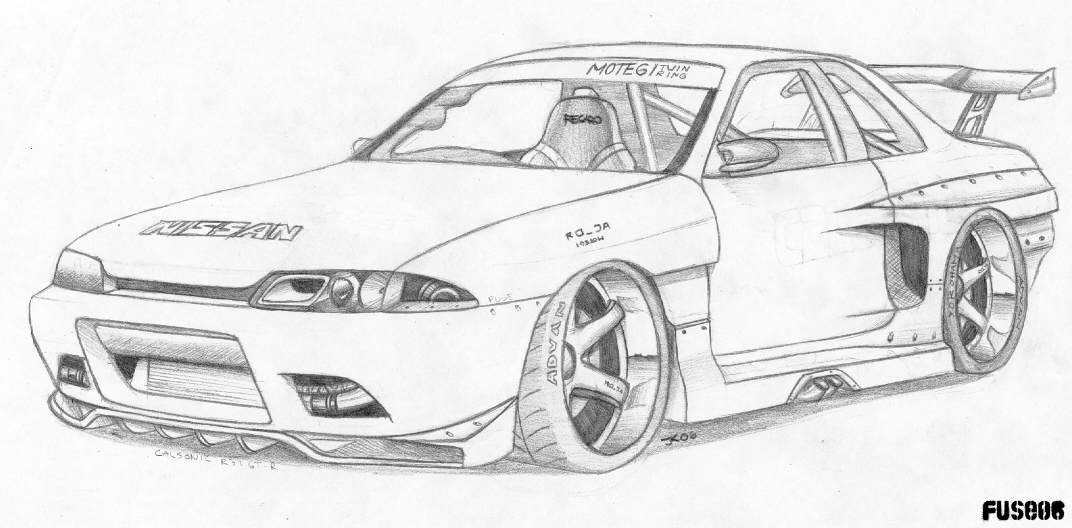 Skyline R32 Gt R By Fuseest On Deviantart