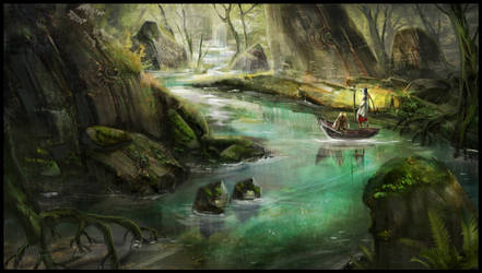 The river by dothaithanh