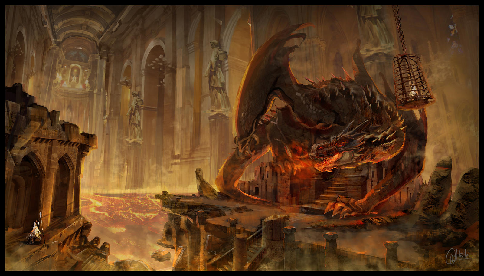 Tha dragon by dothaithanh